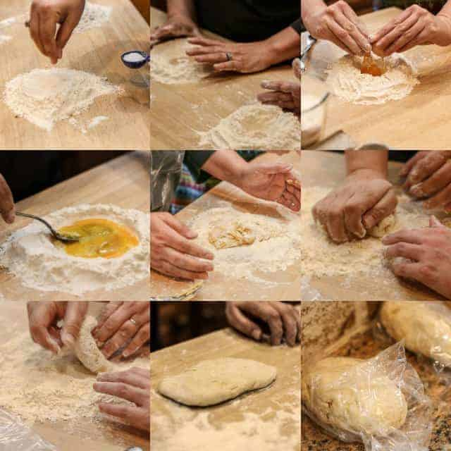 step by step how to make homemade pasta image