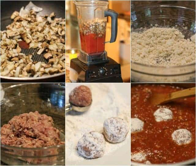 step-by-step instructions on how to make homemade meatballs