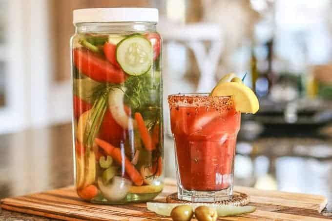 The Best Bloody Mary Vodka Infusion-Infused Vodka